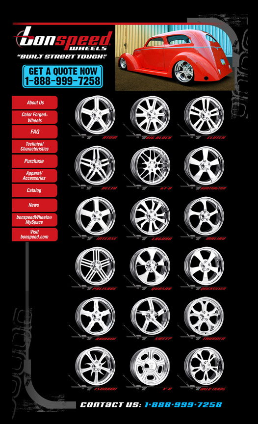bonspeed Wheels Launches New Website In Preparation for