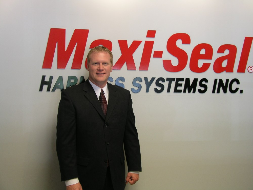 medium resolution of tim barnett new general manager at maxi seal harness systems inc jpg file