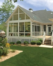 Back Porches with Sunrooms