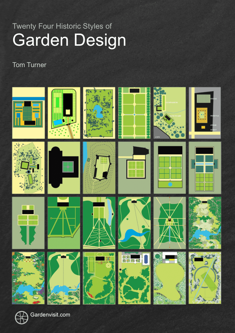 Free Download of eBooks on Garden Design and History by Tom Turner in October 2008