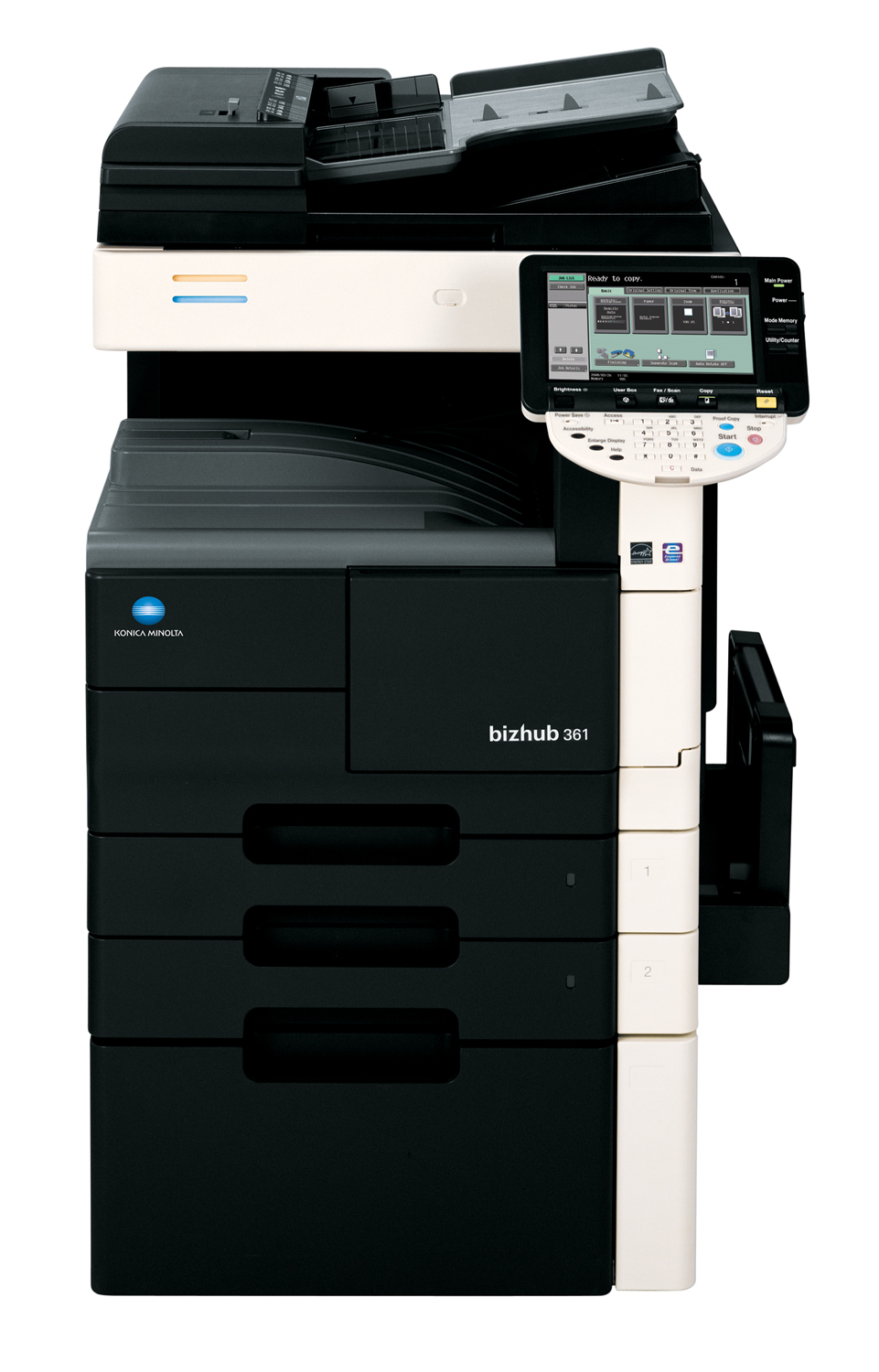 Konica Minolta Launches bizhub 361