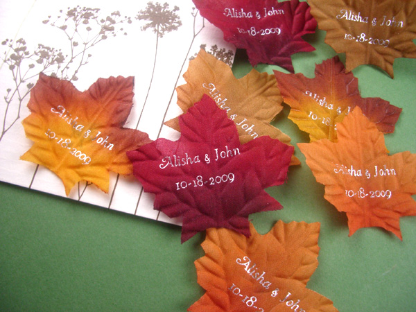 Fall In Love With Favors And Flowers New Line Of Fall