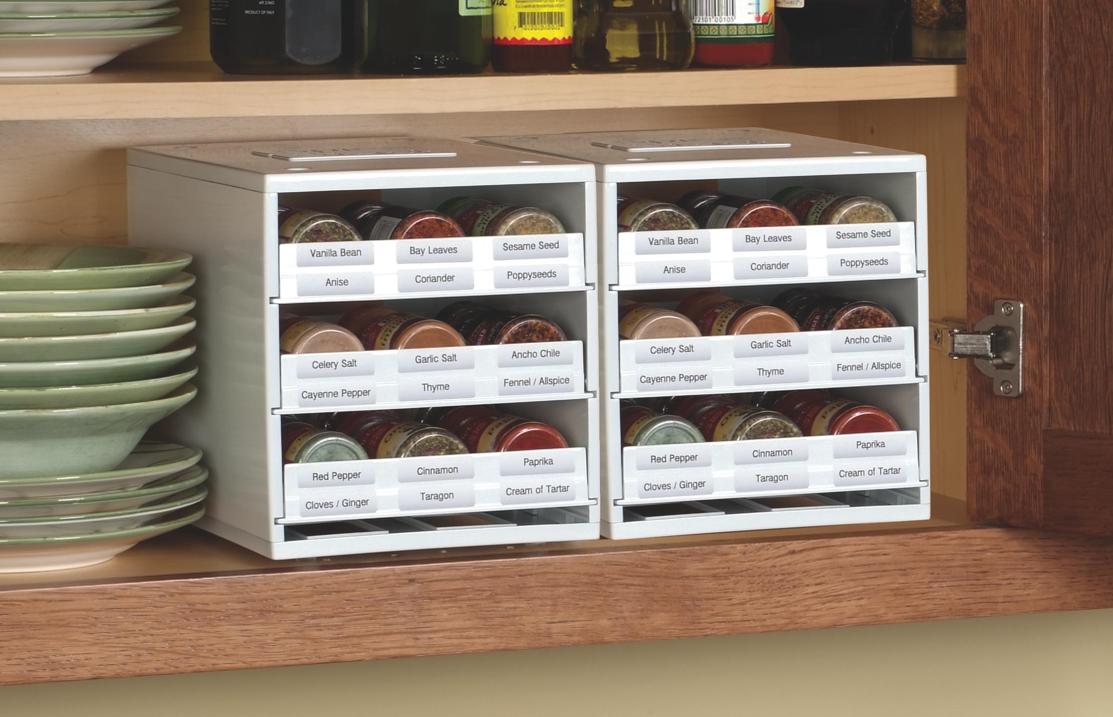 New SpiceStack Spice Rack Helps NotSoOrganized Cooks