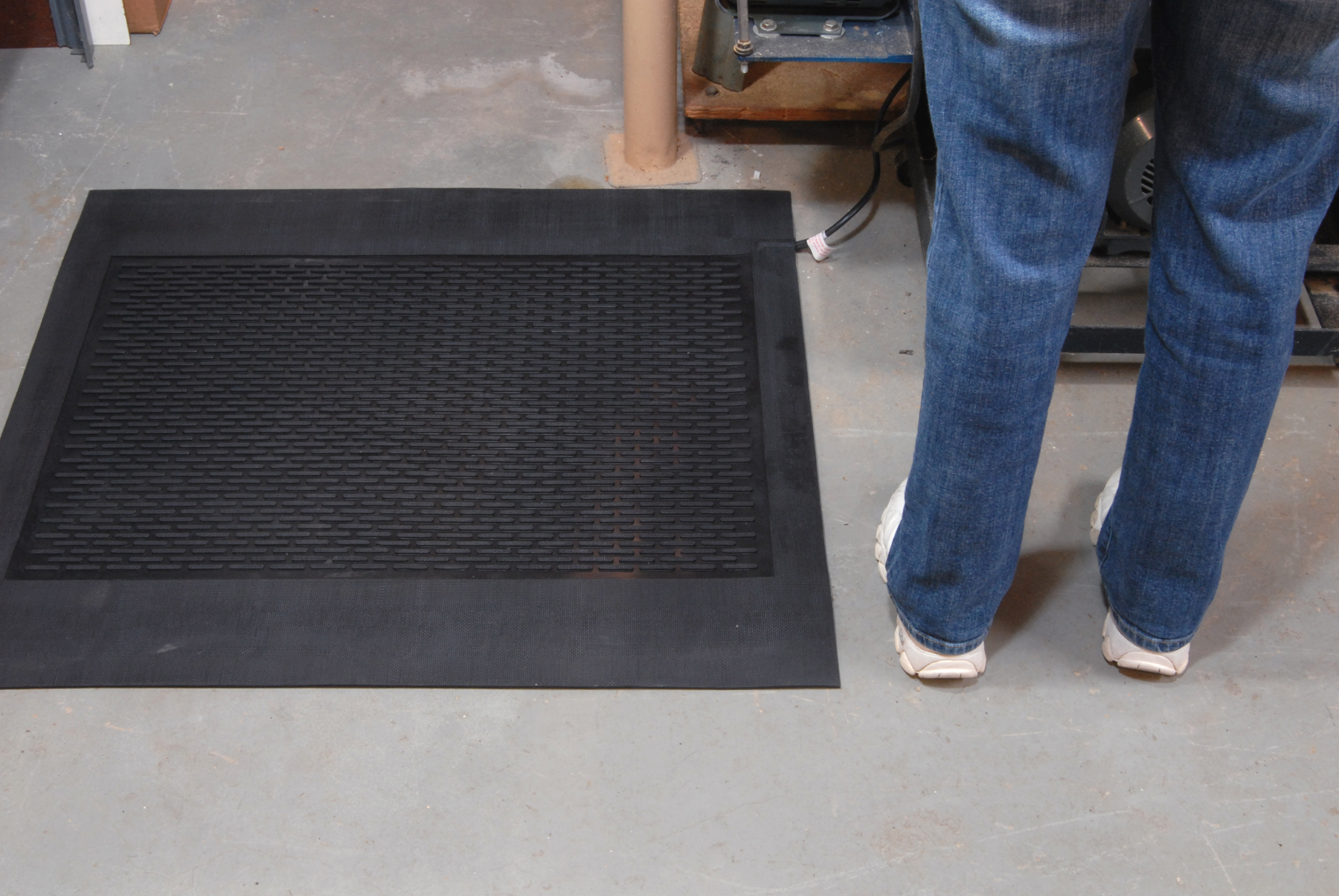 MartinsonNicholls New Heated Work Mats Replace Space