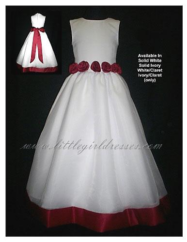 Flower Girl Dresses Customized for BudgetConscious 2009 Weddings from Little Girl Dressescom