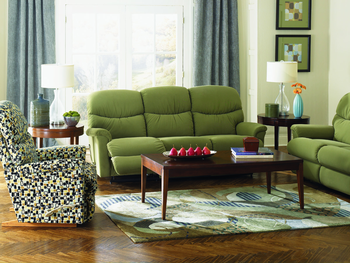 leather sofa recliner furniture gliders dfs make house guests go 'green' with envy for earth day ...