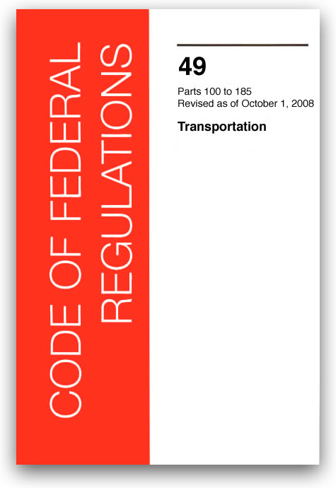 49 CFR Transportation 2008 Edition Now Available From American Nautical Services