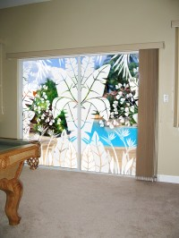 Sliding Glass Doors Can Be Decorated