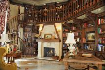 English Dream Home Library