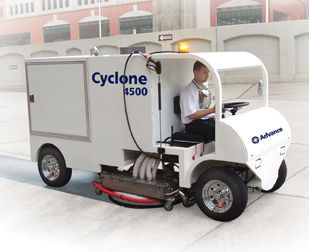New Cyclone 4500 from Advance Industrys First Rider