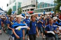 Of Thousands People Celebrating Estonian