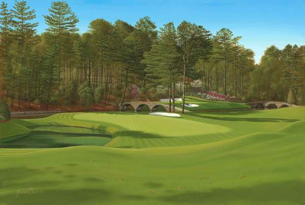 Augusta Golf Course Famous Hole