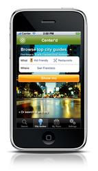 Center'd iPhone App