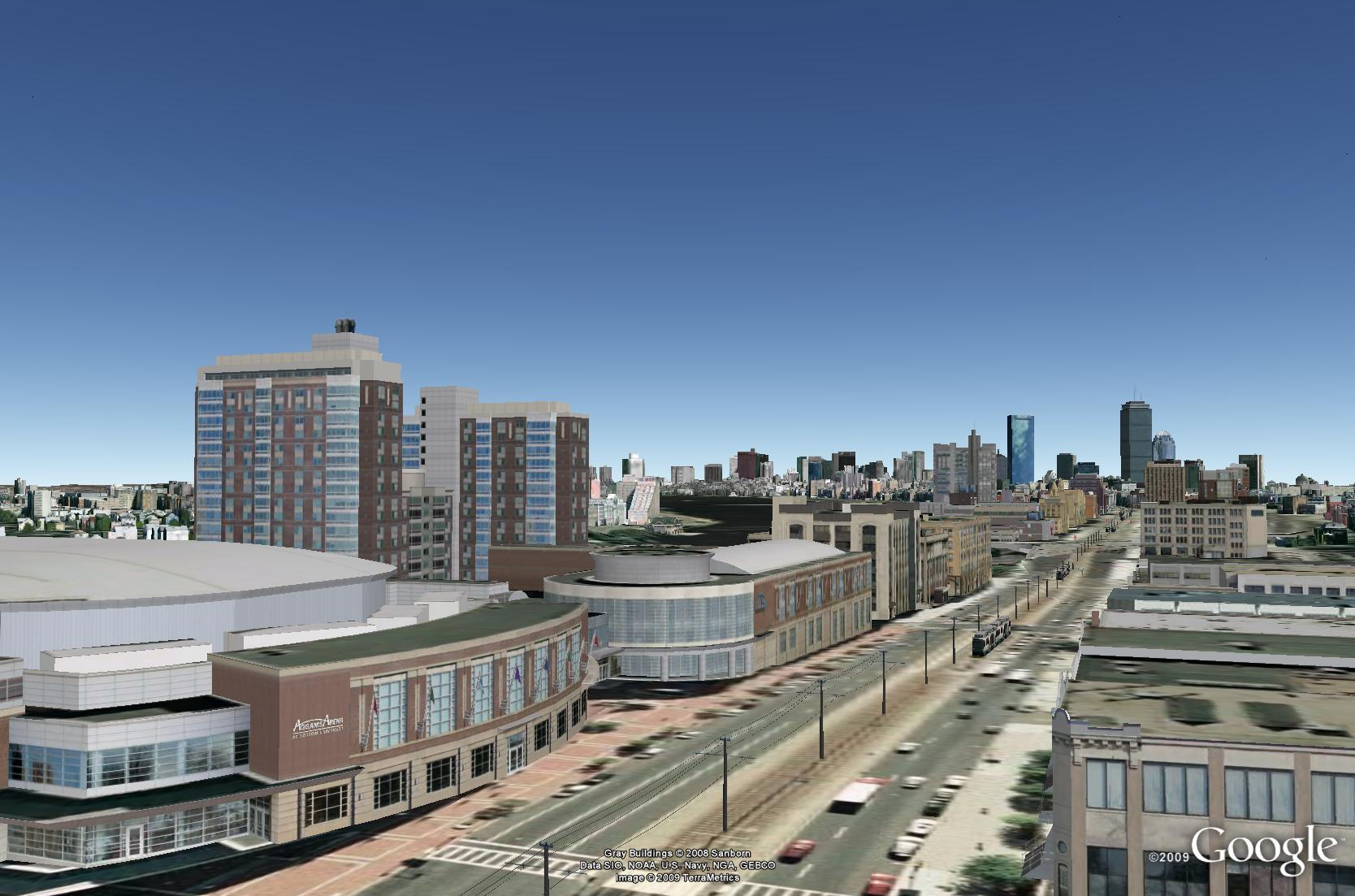 concept3D Completes 3D Modeling and Google Earth(TM) Integration of Boston University