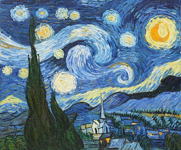 Van Gogh Starry Night is the World Most Popular Oil