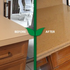Replace Kitchen Countertop Free Standing Cabinet First Certified Green Refinishing Company In Tampa Area ...