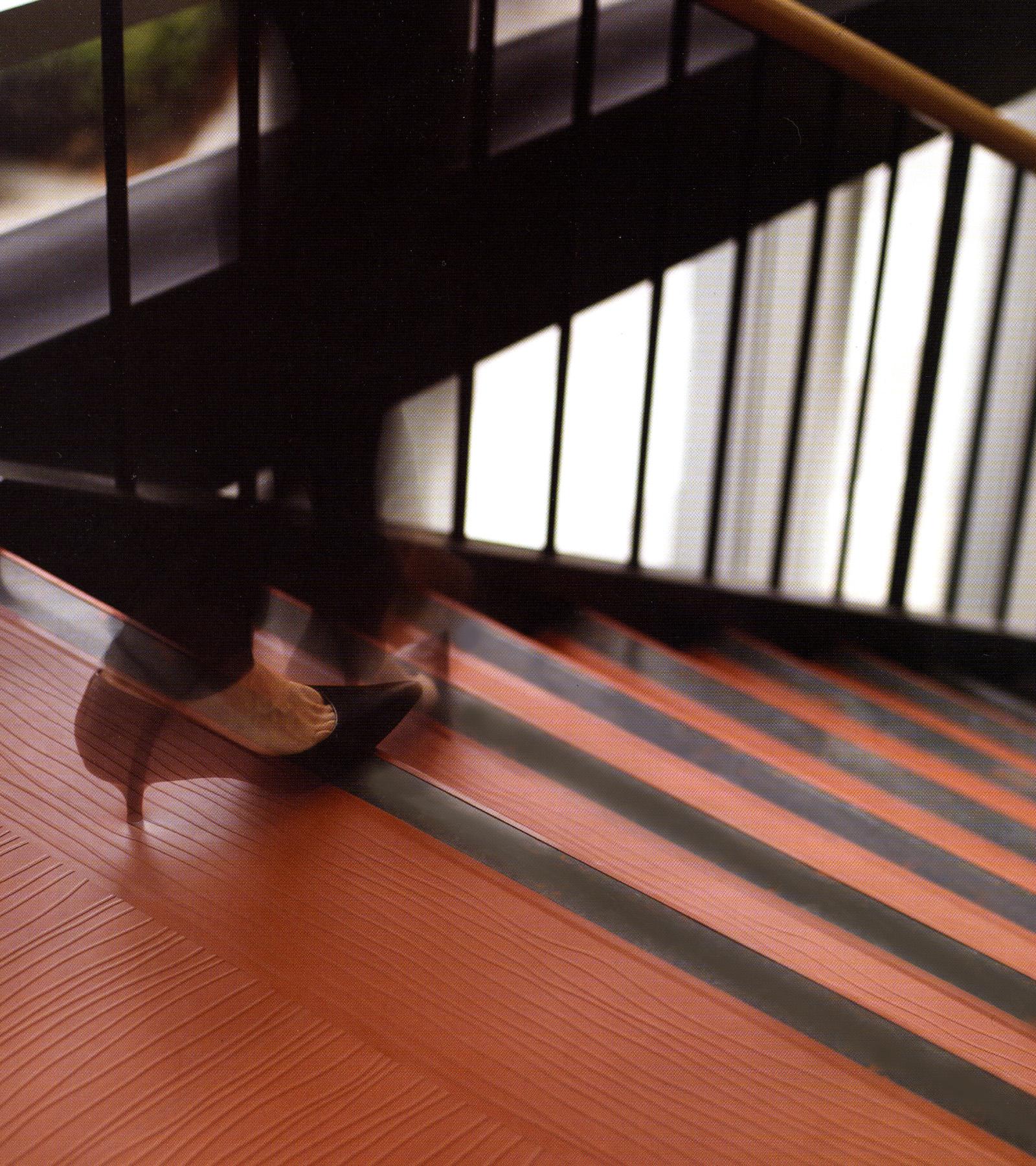 New AntiSlip Grit Tape for Safer Vinyl and Rubber Stair