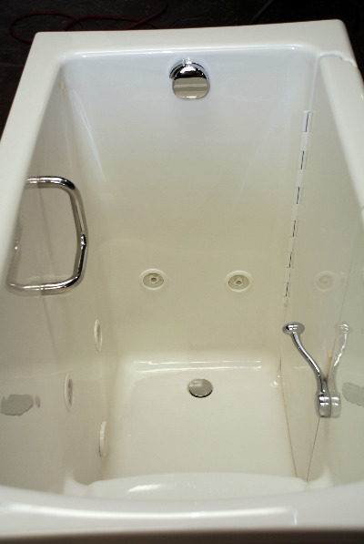 Revolutionary Deep Soak Acrylic WalkIn Bathtub Just