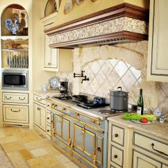 French Kitchen Cabinets Garbage Can For Top Country Interior Designer Creates Tabletop Dreams