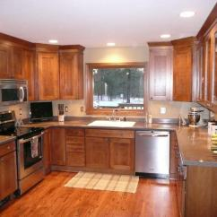 Kitchen Under Cabinet Lighting How To Refinish Stained Wood Cabinets 'project Of The Month' Award Goes Russ And Pam Rysavy ...
