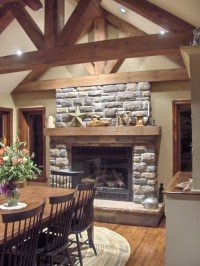Stone Selex of Toronto presents interior stone fireplace ...