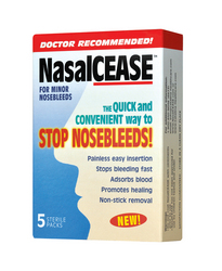 NasalCEASE Is The New Quick And Easy Way To Stop Nosebleeds Available OverTheCounter