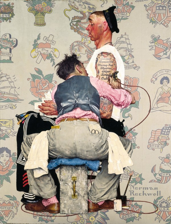 Exhibition Of Norman Rockwell Study And