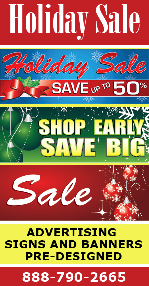 Dps Offers Affordable Holiday Sale Signs And Advertising