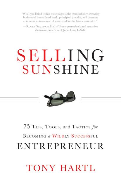 Author, Entrepreneur Tony Hartl To Speak At Smart Tan