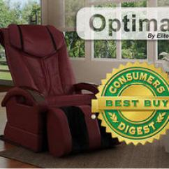 Elite Massage Chair Large Office S Optima Recently Hailed A Consumers Digest Best Buy The Consumer