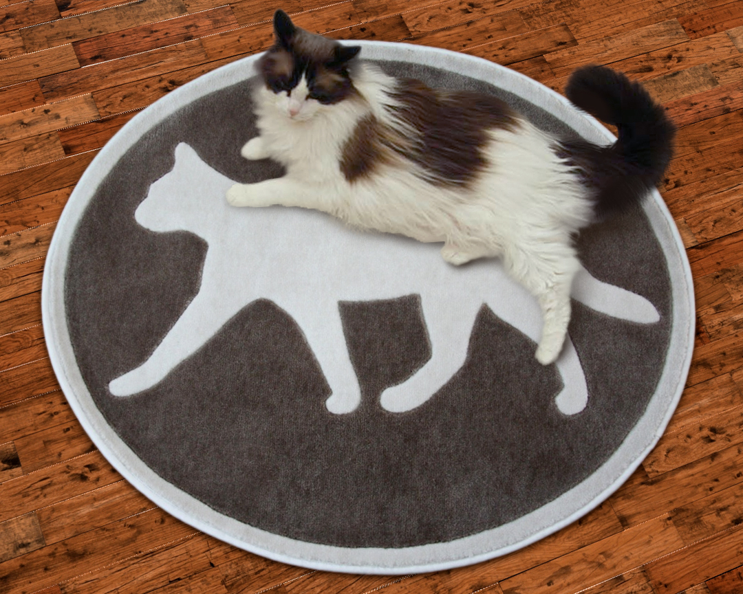 Petrugscom Introduces New Area Rugs with a Feline Theme