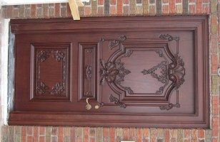 Wooden Carving Main Doors - Native Home Garden Design