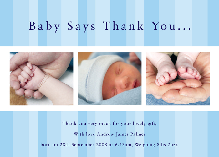 Christening Announcement Cards