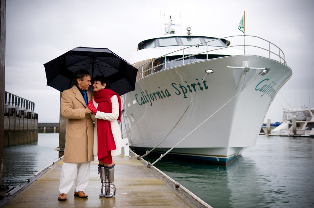 Yacht Connections International Owner Marti McMahon Weds Aboard Her Beloved California Spirit