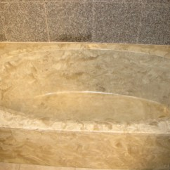 Changing Countertops In Kitchen And Bath Showroom Affordable Bathtub Tile Recoloring Service Helping ...