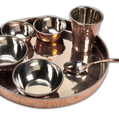 Online Kitchen Store Washable Rugs Shalinindia Launches Copper Tableware For Indian Foods