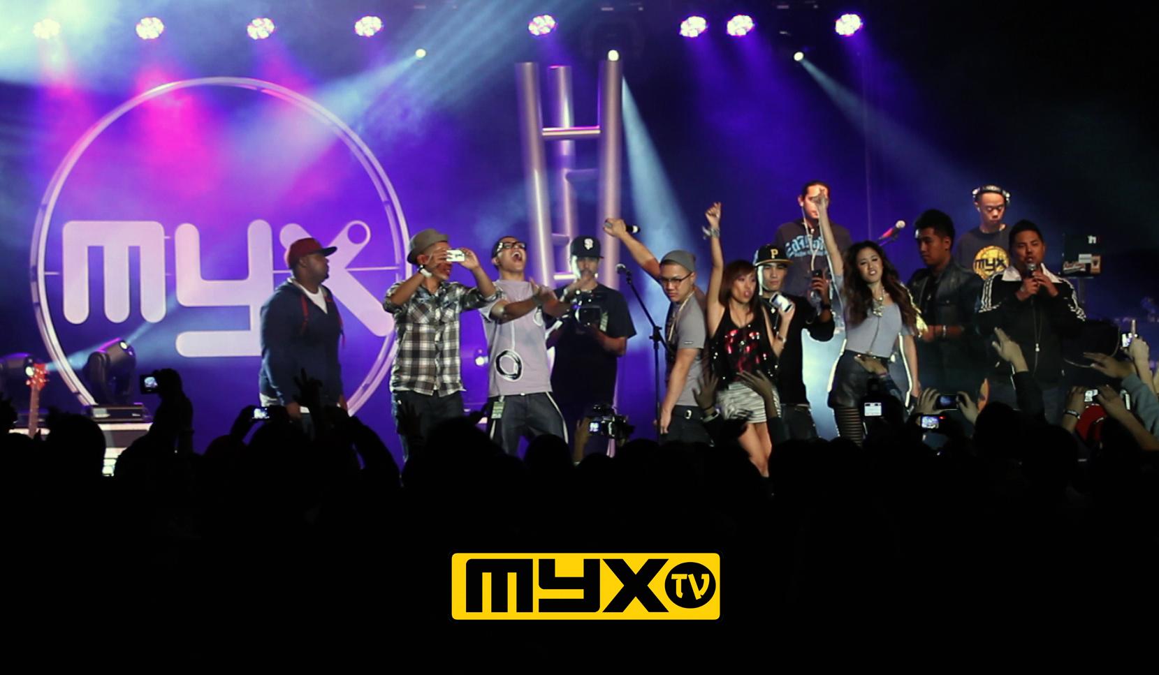 Hasil gambar untuk MYX TV ANC channel