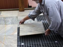 DexSystems Overcomes Failed MudSet Freeze Thaw Cold with New Outdoor Floor Technology