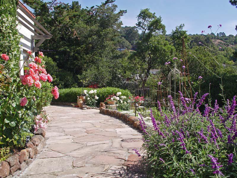 Simmonds  Associates Garden Featured in Marin EcoFriendly Garden Tour