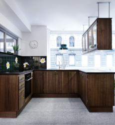 glass kitchen cabinet knobs pantry shelving systems kvänum launches '70s inspired design during ...