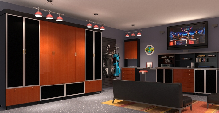Closet Factory Introduces New And Innovative Custom Garage Designs