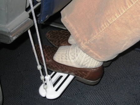 Zarcor Inc Introduces Carry On Airplane Footrest
