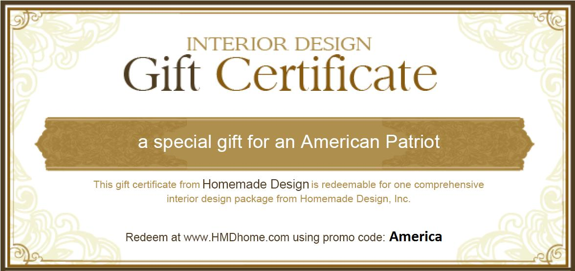 Interior Design Firm Celebrates American Independence with