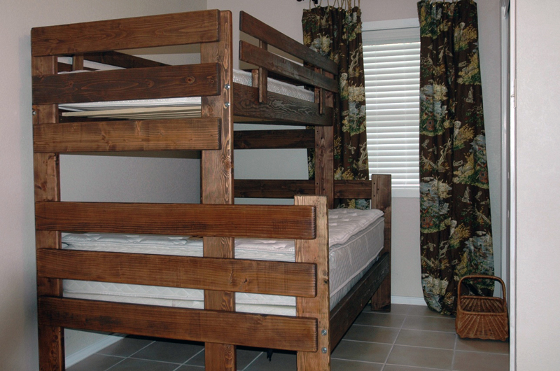 twin over full loft bunk bed plans