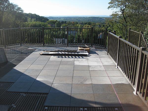 outdoor flooring system