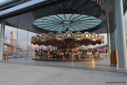 Highly Anticipated Janes Carousel With Acrylic Pavilion