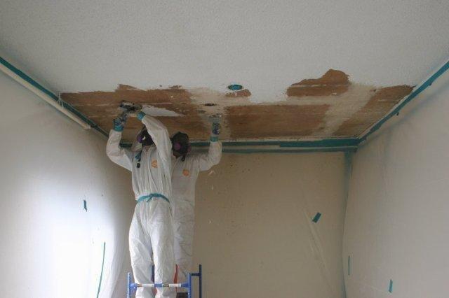 Asbestos Removing Asbestos Popcorn Ceiling