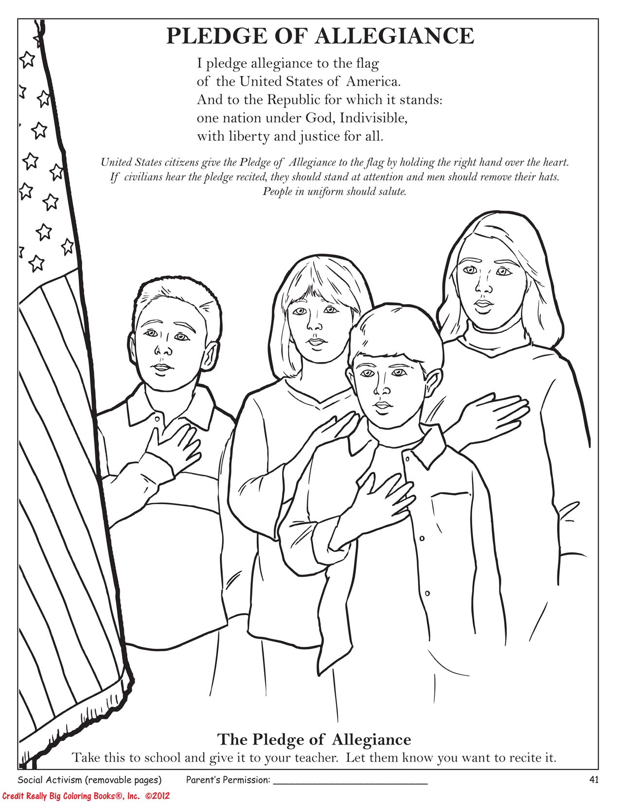 In The New Tea Party Coloring Book A Page About The