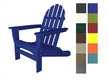 poly wood adirondack chairs wheelchair lady makes recycled plastic patio furniture trendy classic chair
