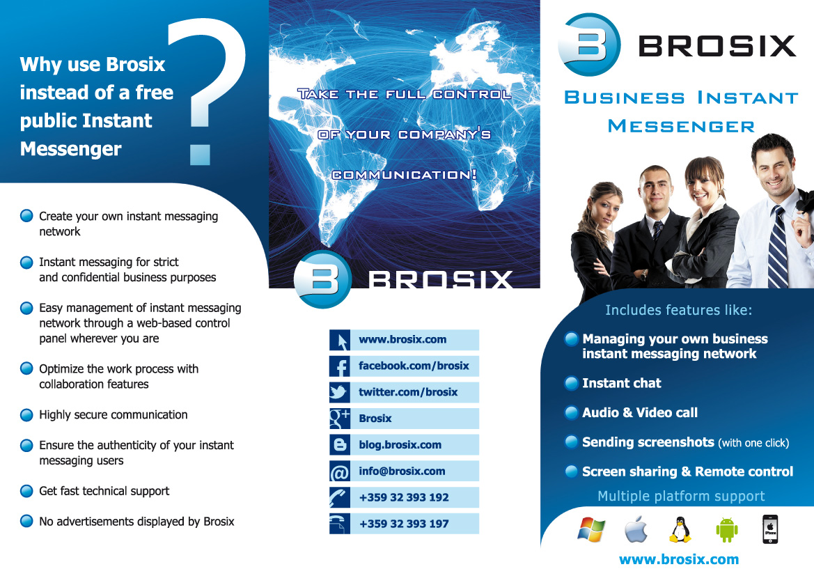 Brosix Announces Cloud Storage Other Updates For 2013